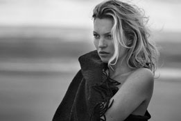 Kate Moss - Peter Lindbergh - Naked Cashmere Fall 2016 Ad Campaign