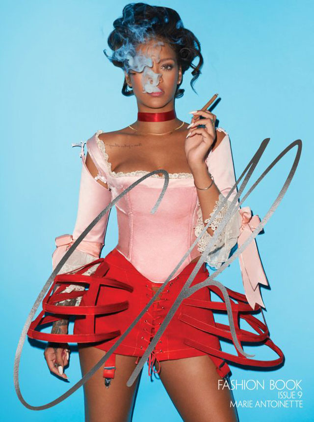 CR Fashion Book - Terry Richardson - Rihanna