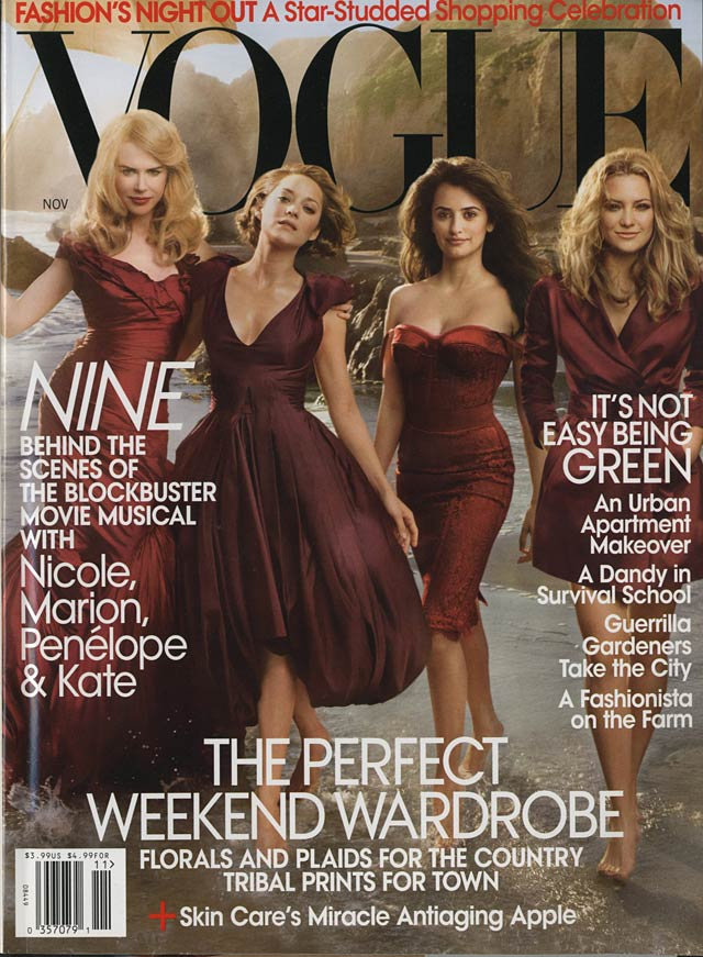 VOGUE US - Nicole, Marion, Penelope and Kate