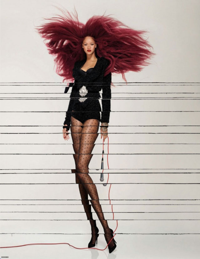 Jean-Paul Goude - Rihanna - Vogue Paris December 2017