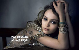 Peter Linbergh - Lily-Rose Depp - Vogue Japan Janvier 2018