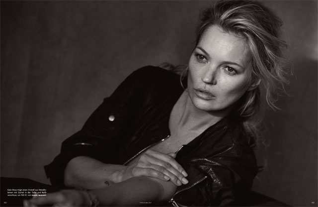 Peter Lindbergh - Kate Moss - Vogue Germany May 2017