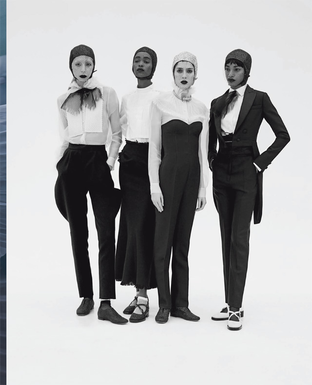 Vogue Italia march 2019 - Solve Sundsbo - Group - Dior