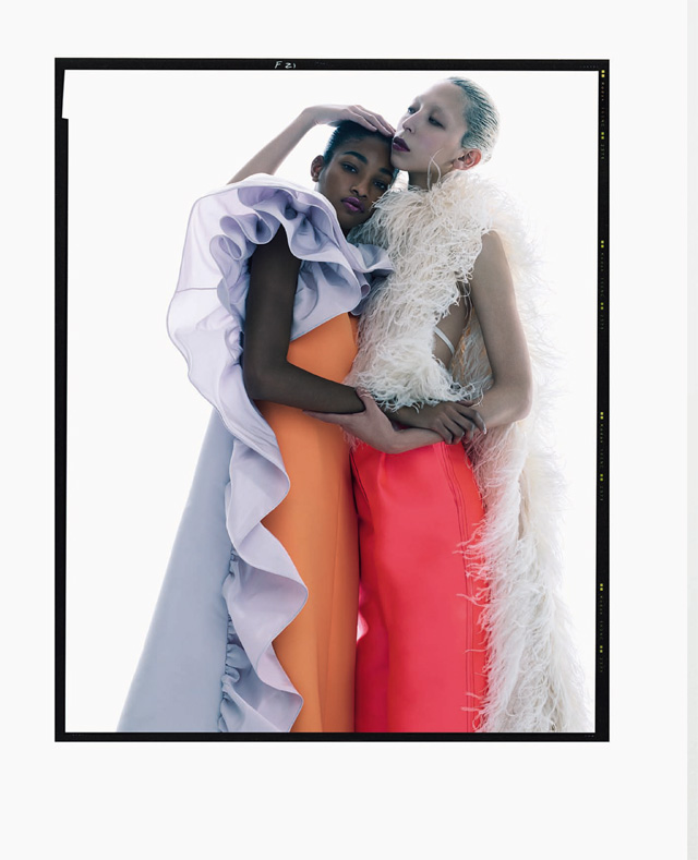 Vogue Italia march 2019 - Solve Sundsbo - Isaa Lish - Naomi Chinwing