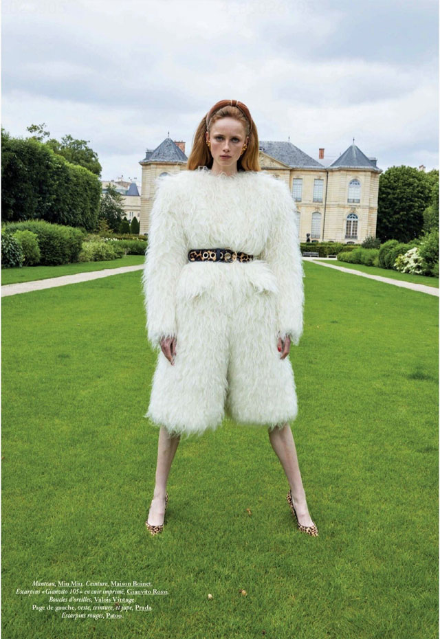Vogue Paris September 2020 - Juergen Teller - Rianne VanRompaey