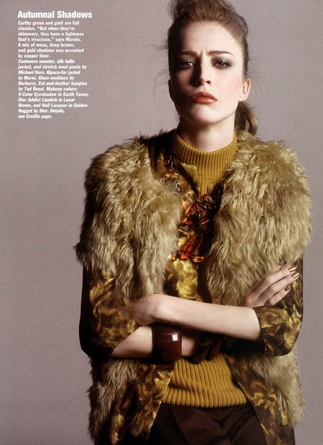 Allure Magazine - Michael Thompson - Raquel Zimmermann