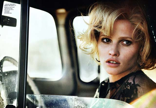 VOGUE China - Peter Lindbergh - Lara Stone