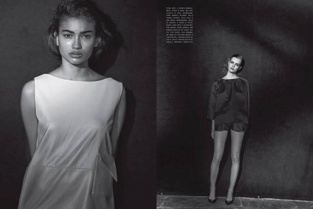 VOGUE Italy - Peter Lindbergh