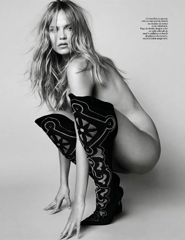 VOGUE Paris - Mario Testino - Natasha Poly