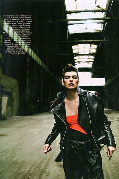 VOGUE Paris - Peter Lindbergh - Milla Jovovich