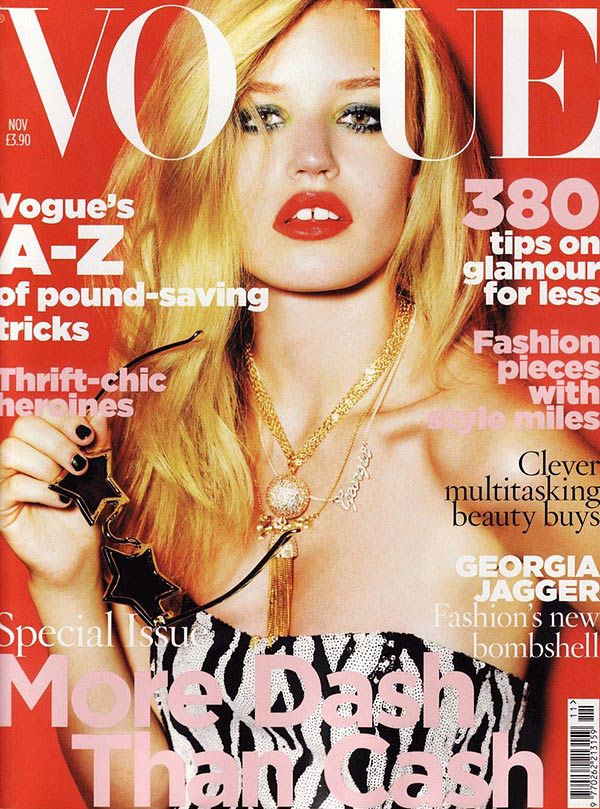 VOGUE UK - Mario Testino - Georgia May Jagger