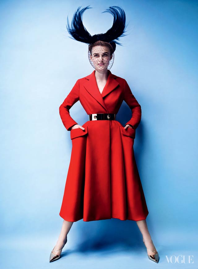 VOGUE US - Mario Testino- Keira Knightley