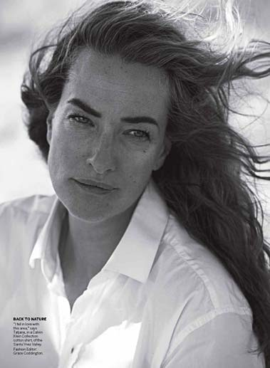 VOGUE US - Peter Lindbergh - Tatjana Patitz