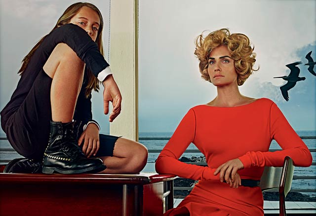 VOGUE US - Steven Klein - Amber Valleta