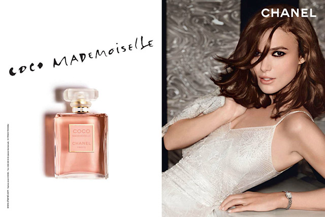 Chanel - Coco Mademoiselle - Keira Knightley
