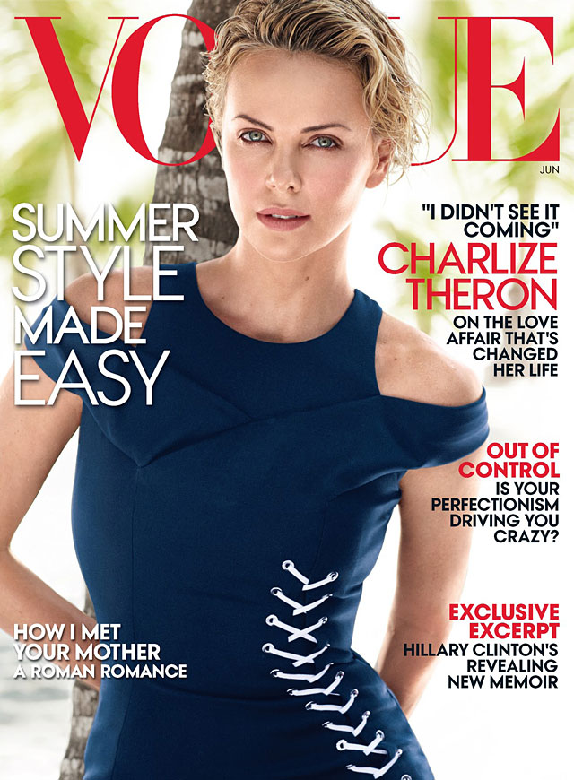 Vogue US - Charlize Theron