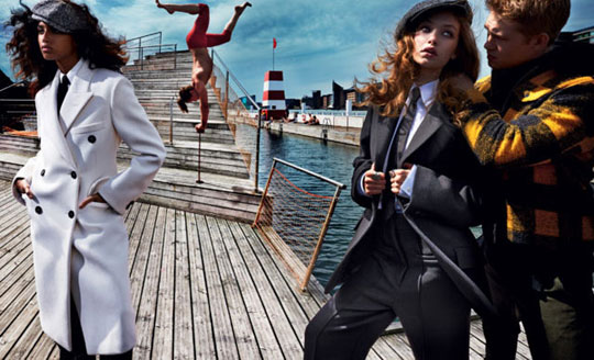 Vogue US September 2016 Gigi Hadid Imaan Hammam by Mario Testino