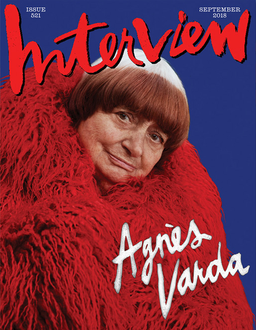 Interview magazine - september 2018 - Agnes Varda